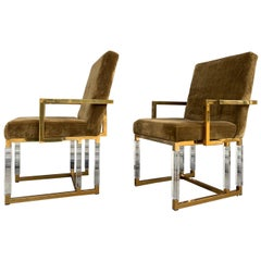 Pair of Metric Armchairs by Charles Hollis Jones