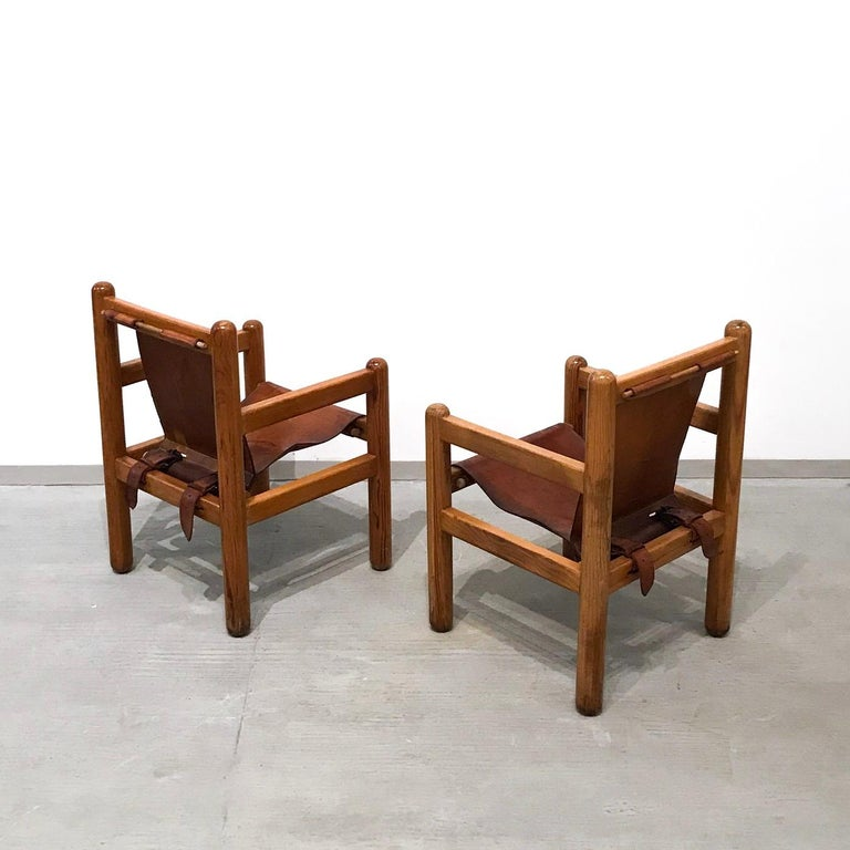 Pair of Mexican Armchairs In Excellent Condition For Sale In Mexico City, CDMX