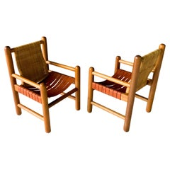 Pair of Mexican Modern Armchairs