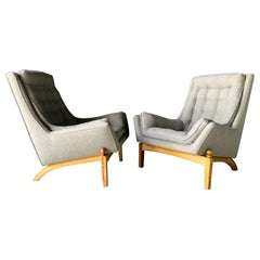 Pair of Mexican Armchairs by Robert & Mito block