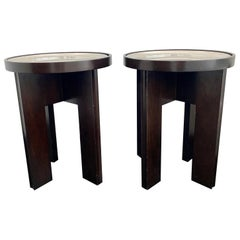 Pair of MIA Side Tables by Holly Hunt