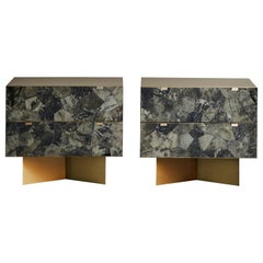 Pair of Mica Nightstands at Cost Price