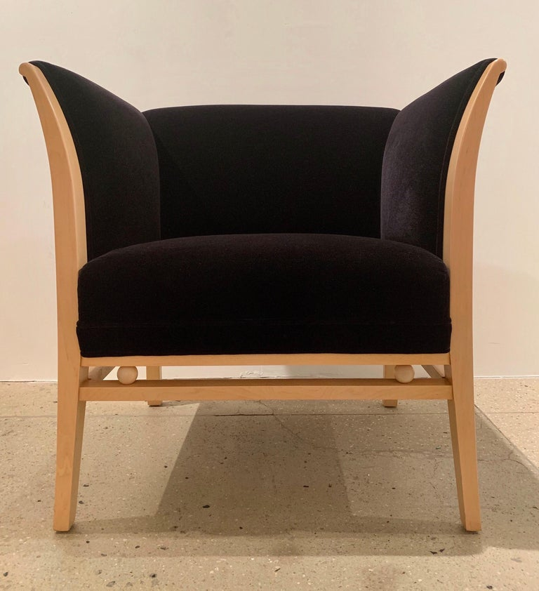 American Pair of Michael Grave 1990s Club Chairs For Sale