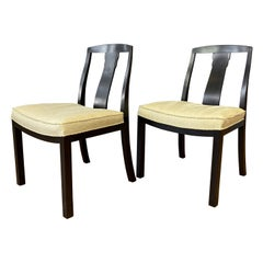 Pair of Michael Taylor for Baker Furniture T-Back Dining Chairs, 1950s