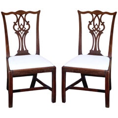 Pair of Mid-18th Century Chippendale Side Chairs