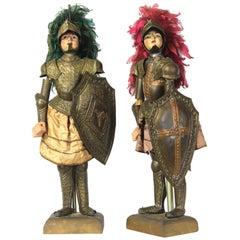Pair of Mid-19th Century Sicilian Marionettes