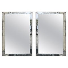 Pair of Mid-20th Century or Earlier Venetian Mirrors