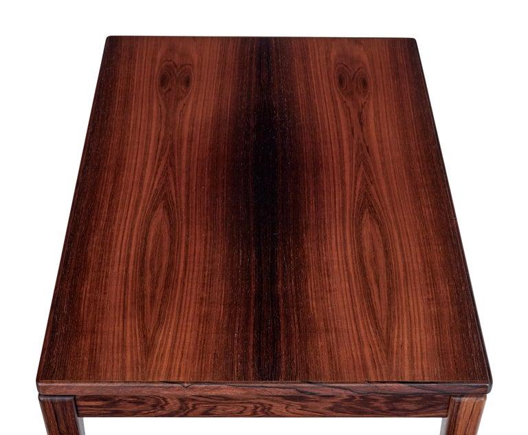 Veneer Pair of Mid-20th Century Palisander Side Tables by Ulferts Möbler For Sale