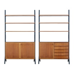 Pair of Mid 20th Century Teak Roxen Bookcase Sideboards