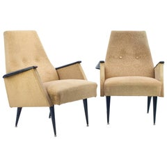 Pair of Midcentury Armchairs, 1960s