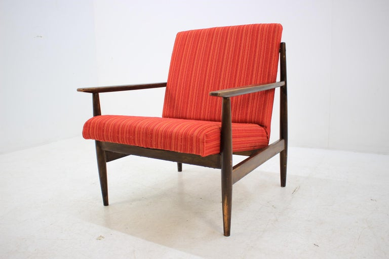 Pair of Midcentury Armchairs, 1970s In Good Condition For Sale In Barcelona, ES