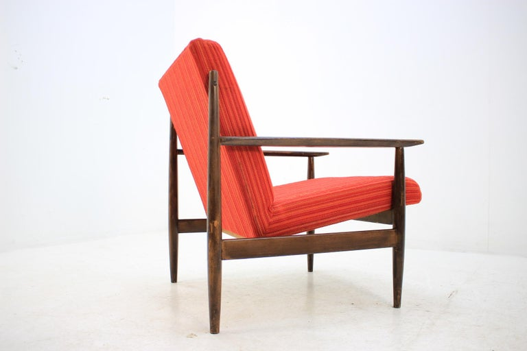 Late 20th Century Pair of Midcentury Armchairs, 1970s For Sale