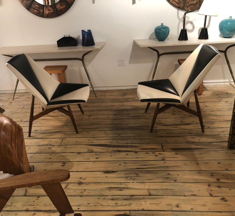 Pair of Midcentury Armchairs For Sale 13