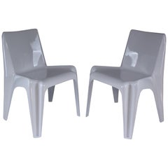 Pair of Midcentury BA1171 Chairs by Helmut Bätzner, 1960s