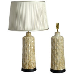 Pair of Mid-Century Ceramic Lamp Bases