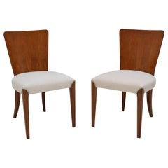 Pair of Mid-Century Chairs by Jindrich Halabala, 1950's