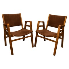 Pair of Midcentury Chairs by František Jirák, Czechoslovakia