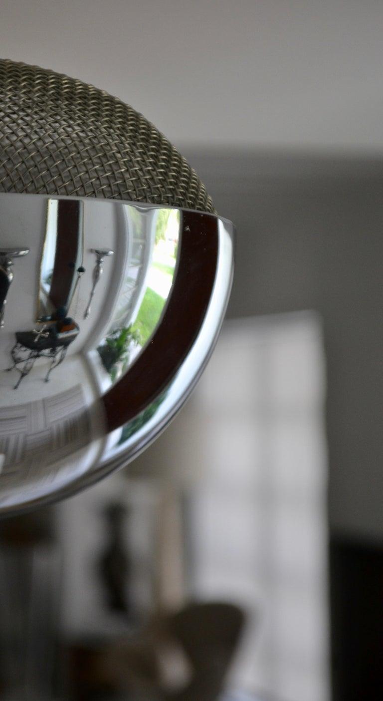 Pair of Midcentury Chrome Floor Lamps 7