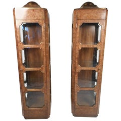 Pair of Midcentury Curios by Mastercraft