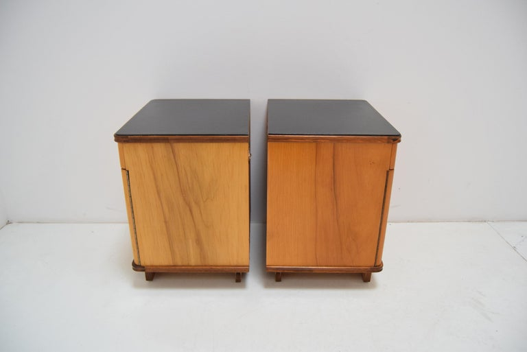 Pair of Midcentury Czechoslovakian Bedside Tables, 1960s For Sale 2