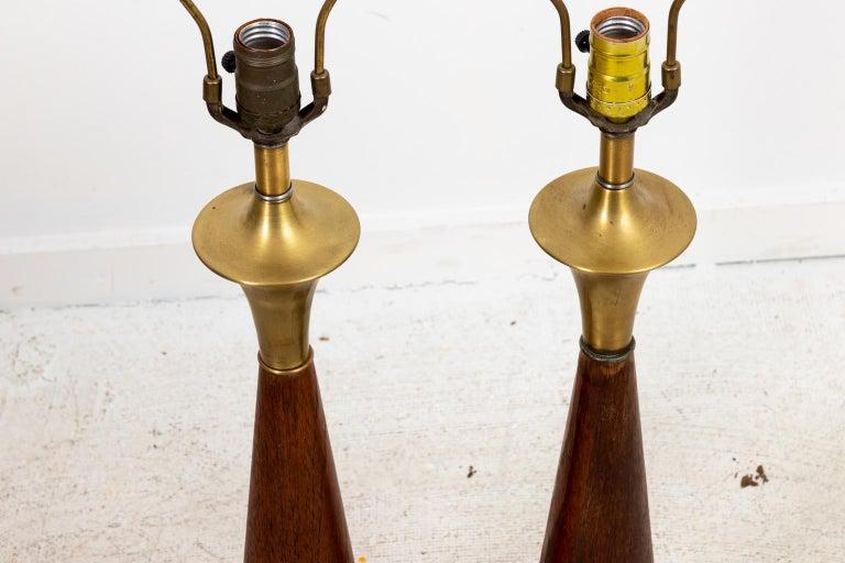 20th Century Pair of Mid Century Danish Lamps