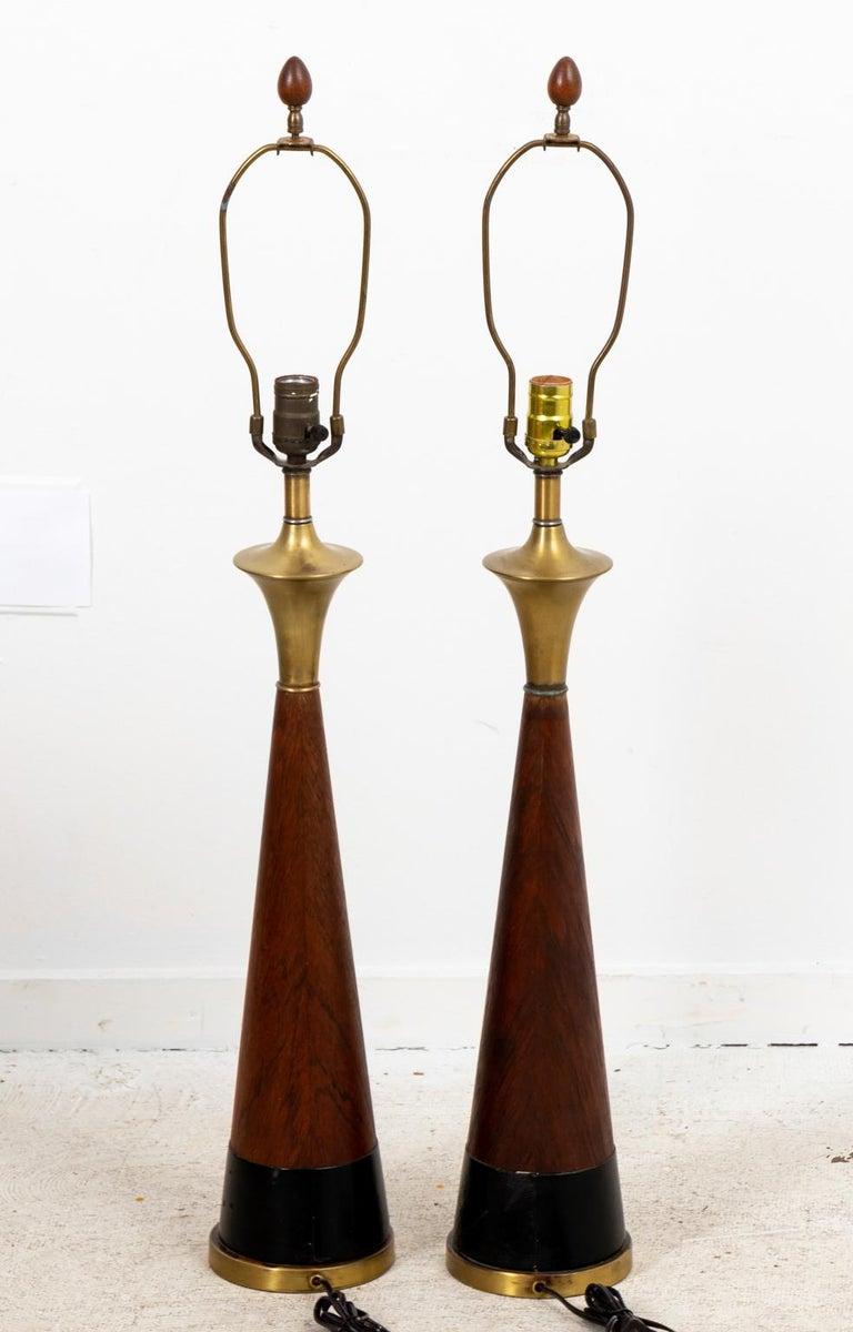 Pair of Mid Century Danish Lamps 3
