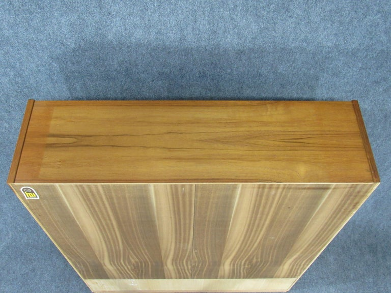 Pair of Midcentury, Danish Modern Teak Cabinets by Poul Hundevad for HU For Sale 5