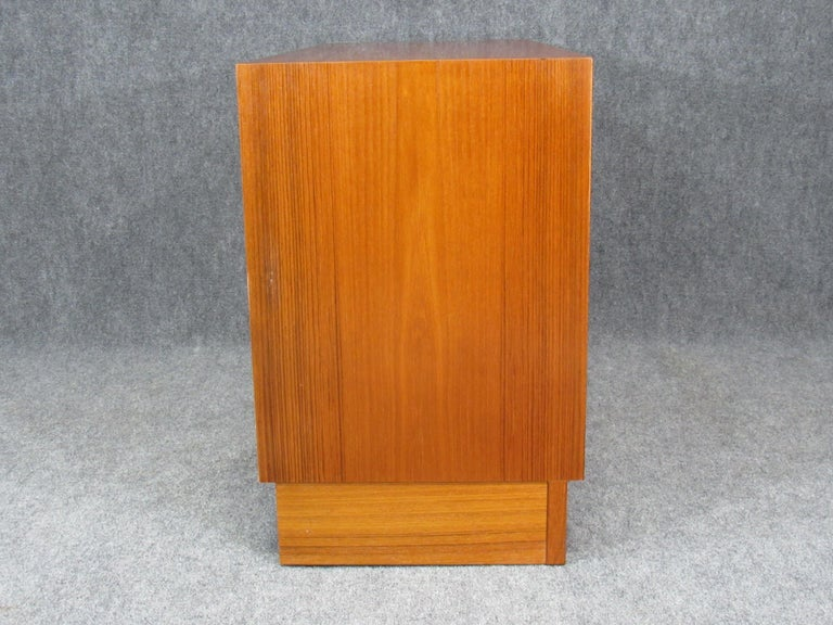 Mid-20th Century Pair of Midcentury, Danish Modern Teak Credenzas by Poul Hundevad for HU For Sale