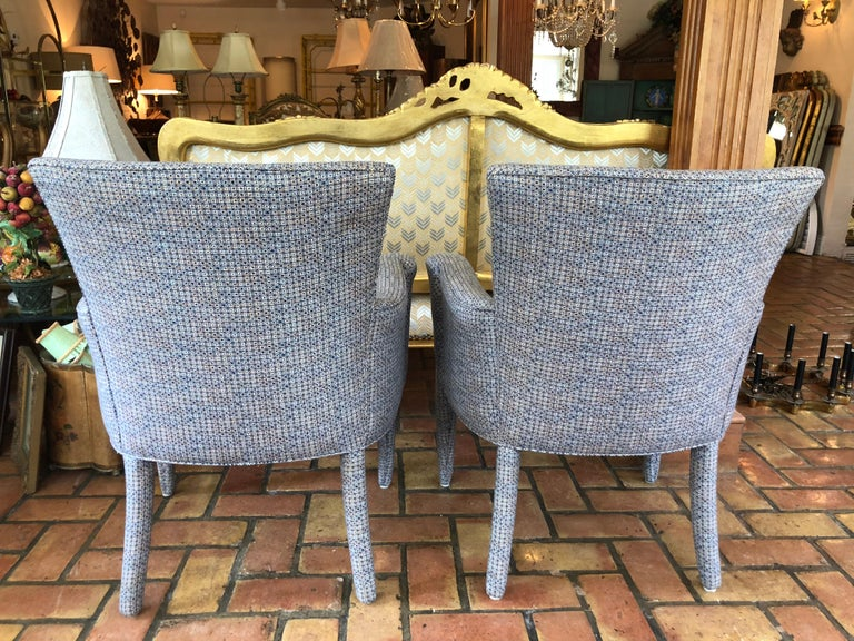 ON SALE -Pair of Mid-Century Danish Upholstered Chairs For Sale 4