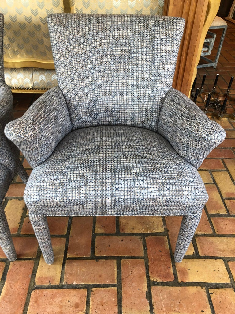 Mid-20th Century ON SALE -Pair of Mid-Century Danish Upholstered Chairs For Sale