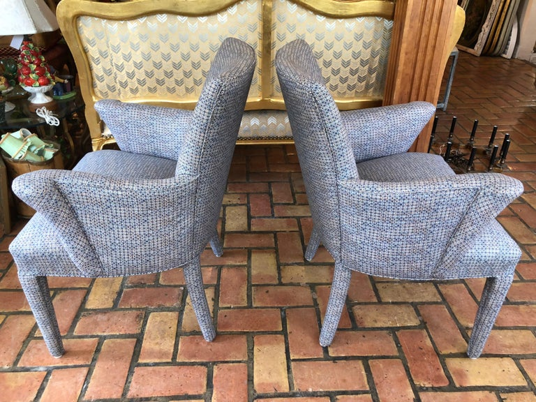 Upholstery ON SALE -Pair of Mid-Century Danish Upholstered Chairs For Sale