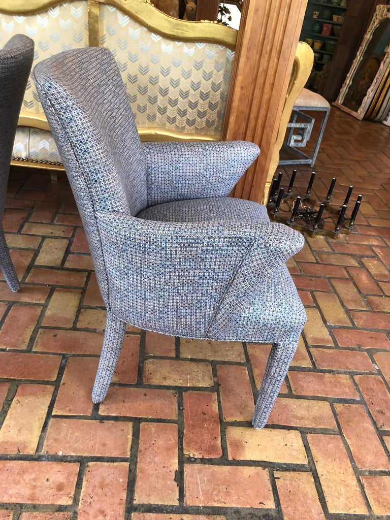 ON SALE -Pair of Mid-Century Danish Upholstered Chairs For Sale 1