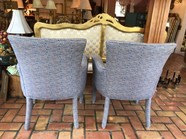 ON SALE -Pair of Mid-Century Danish Upholstered Chairs For Sale 3