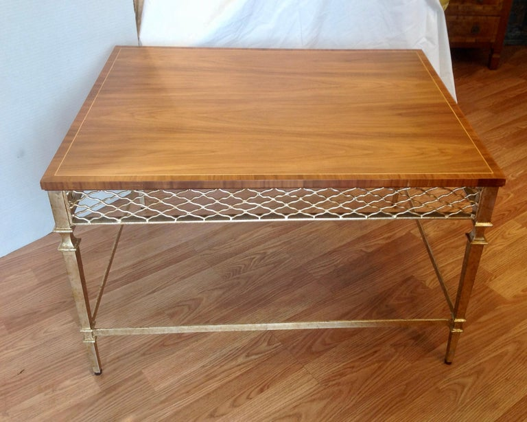 Inlay Pair of Midcentury End Tables For Sale