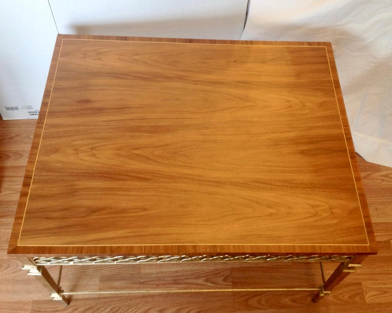 Pair of Midcentury End Tables In Good Condition For Sale In West Palm Beach, FL
