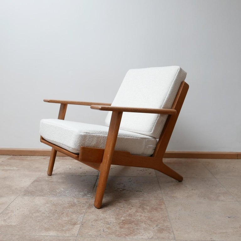 Pair of Midcentury Hans Wegener GE-290 Armchairs For Sale 4