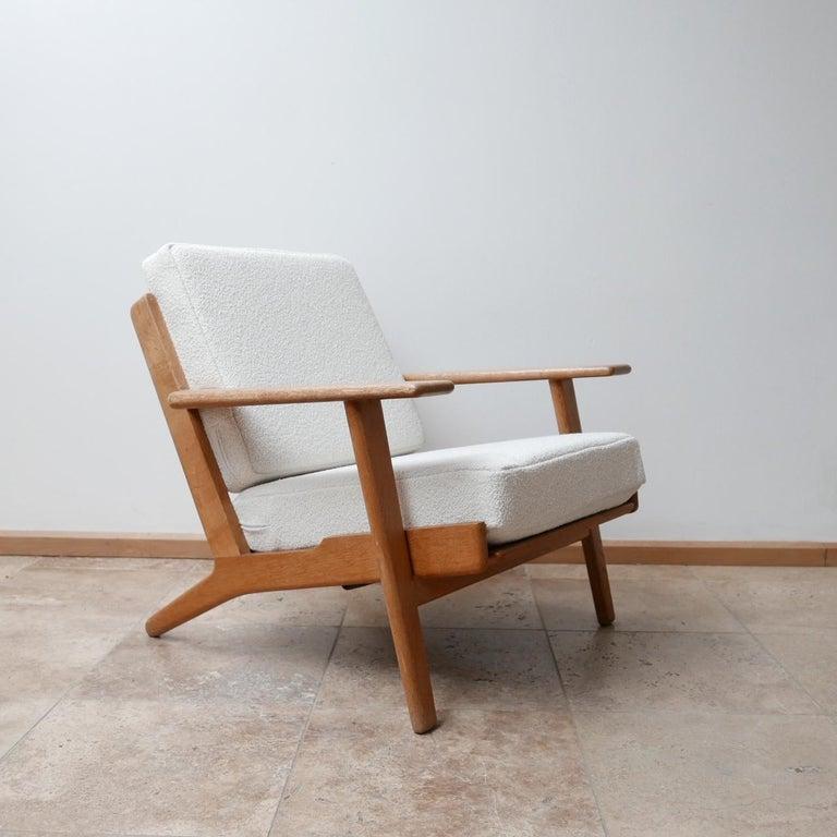 Pair of Midcentury Hans Wegener GE-290 Armchairs For Sale 1