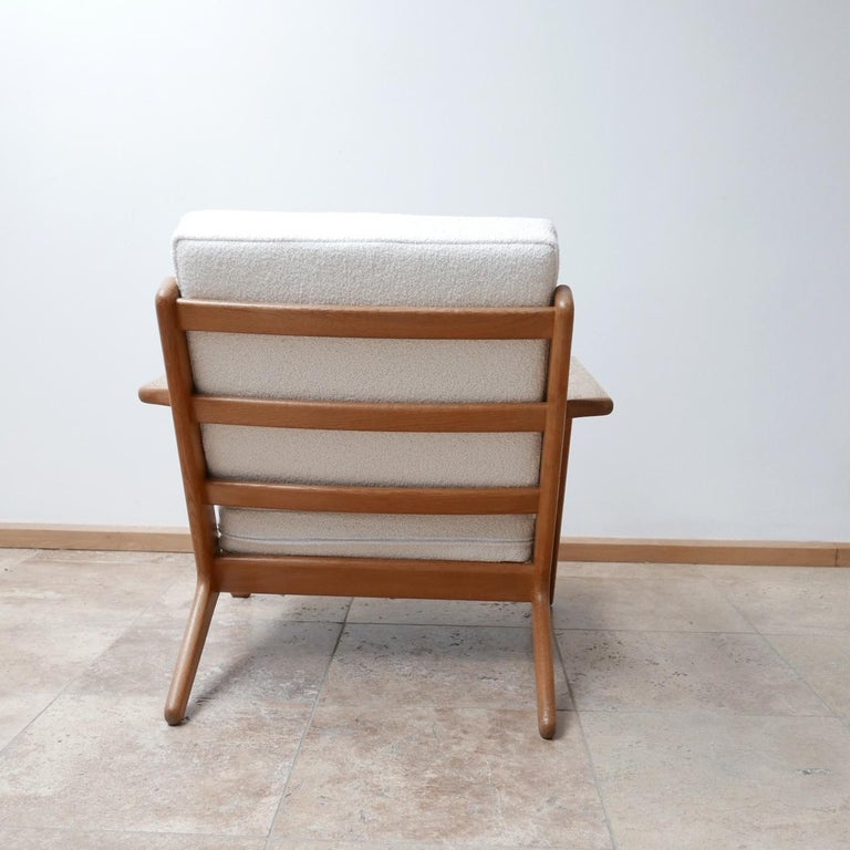 Pair of Midcentury Hans Wegener GE-290 Armchairs For Sale 2