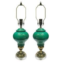Pair of Mid Century Italian Table Lamps