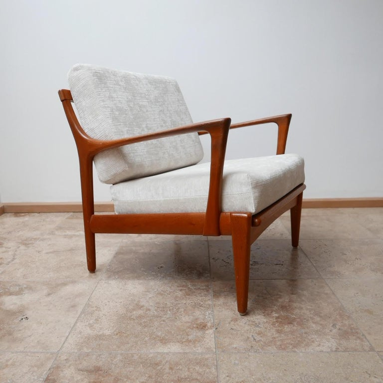 "Pair of Midcentury ""Kuba"" Armchairs by Bertil Fridhagen For Sale 3"