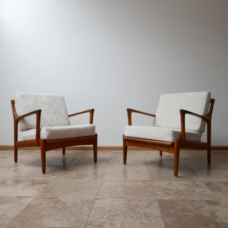 A pair of armchairs by Bertil Fridhagen for Bröderna Andersson,