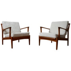 "Pair of Midcentury ""Kuba"" Armchairs by Bertil Fridhagen"