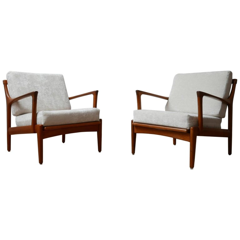 "Pair of Midcentury ""Kuba"" Armchairs by Bertil Fridhagen For Sale"