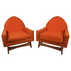 Pair of Midcentury Lounge Chairs after Pearsall