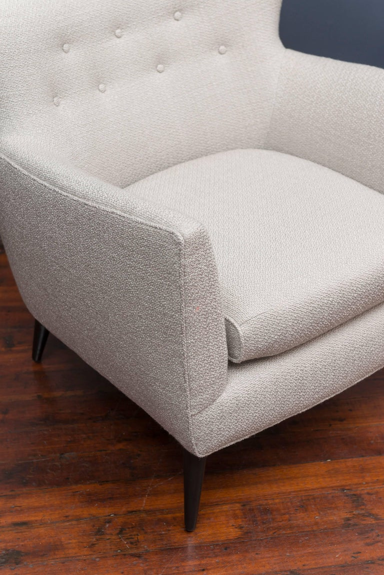 American Pair of Mid Century Lounge Chairs For Sale
