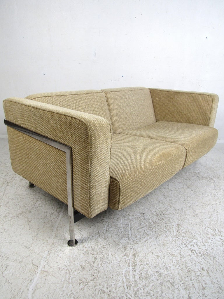 Late 20th Century Pair of Midcentury Loveseats by Robert Haussmann For Sale