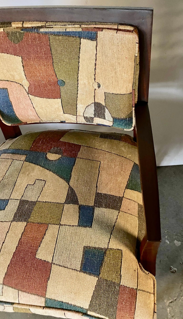20th Century Pair of Mid-Century Modern Armchairs For Sale