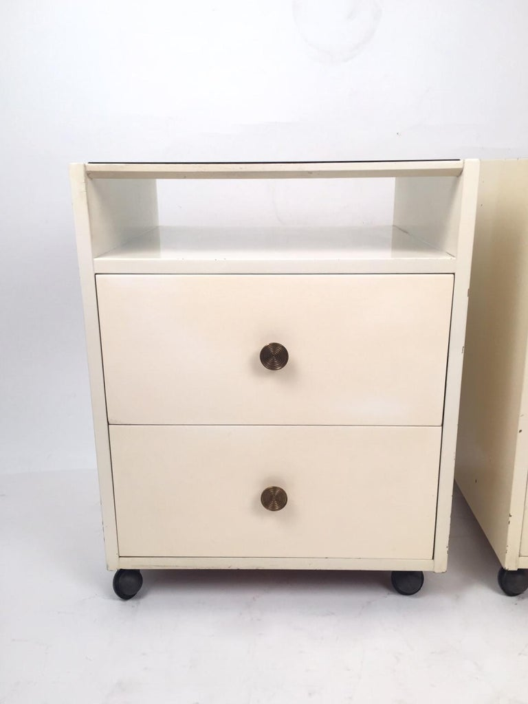 Pair of Mid-Century Modern Carlo de Carli Nightstands for Sormani, 1960 In Good Condition For Sale In Madrid, ES