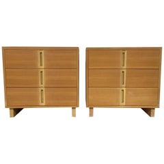 Pair of Mid-Century Modern Chests Style of Paul Laszlo