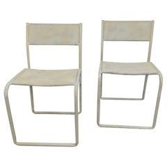 Pair of Mid-Century Modern Children's Chairs